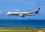 ふくそうじさんが、那覇空港で撮影した全日空 787-9の航空フォト(飛行機 写真・画像)