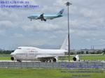 masarunphotosさんが、スワンナプーム国際空港で撮影したオリエント・タイ航空 747-422の航空フォト(写真)