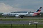 採れたてほしいもさんが、マンチェスター空港で撮影したアメリカン航空 767-323/ERの航空フォト(写真)