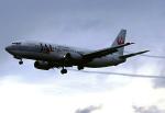 こうきさんが、新千歳空港で撮影した日本航空 737-446の航空フォト(写真)