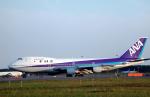 こうきさんが、新千歳空港で撮影した全日空 747SR-81の航空フォト(写真)