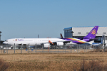 panchiさんが、成田国際空港で撮影したタイ国際航空 A340-642の航空フォト(飛行機 写真・画像)