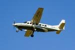 KAMIYA JASDFさんが、函館空港で撮影したアジア航測 208B Grand Caravanの航空フォト(飛行機 写真・画像)