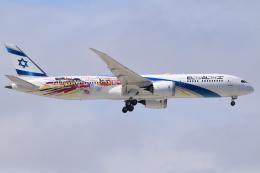 matatabiさんが、成田国際空港で撮影したエル・アル航空 787-9の航空フォト(飛行機 写真・画像)
