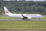 ゆう改めてさんが、熊本空港で撮影した日本航空 737-846の航空フォト(写真)