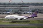 KAZFLYERさんが、羽田空港で撮影したタイ国際航空 747-4D7の航空フォト(写真)