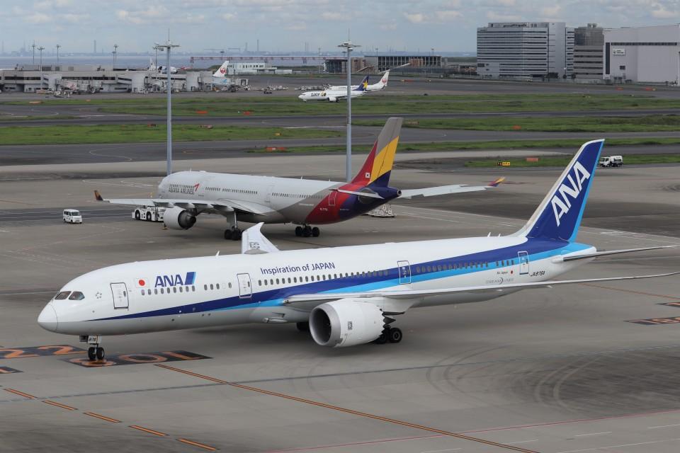 KAZFLYERさんの全日空 Boeing 787-9 (JA876A) 航空フォト
