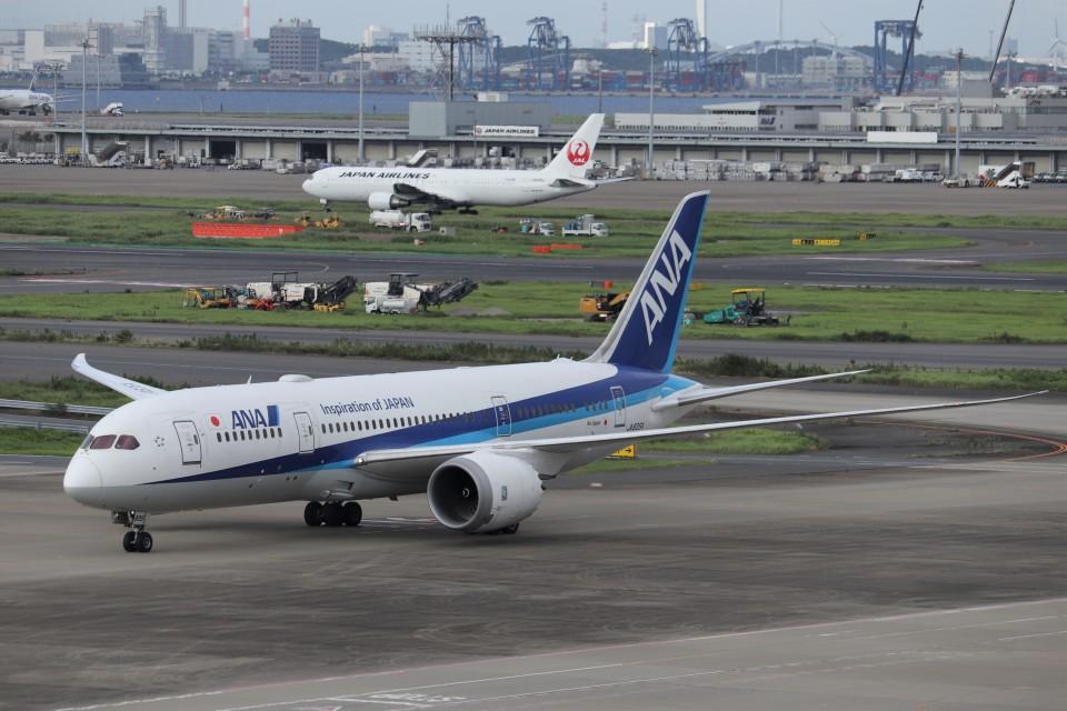 KAZFLYERさんの全日空 Boeing 787-8 Dreamliner (JA835A) 航空フォト