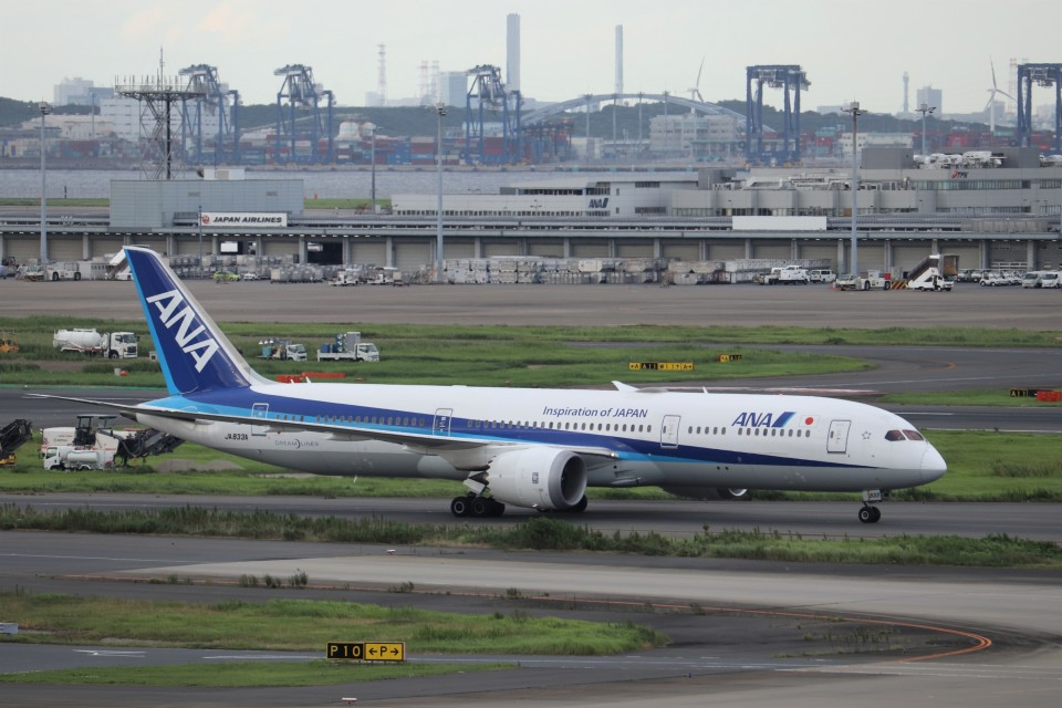 KAZFLYERさんの全日空 Boeing 787-9 (JA833A) 航空フォト
