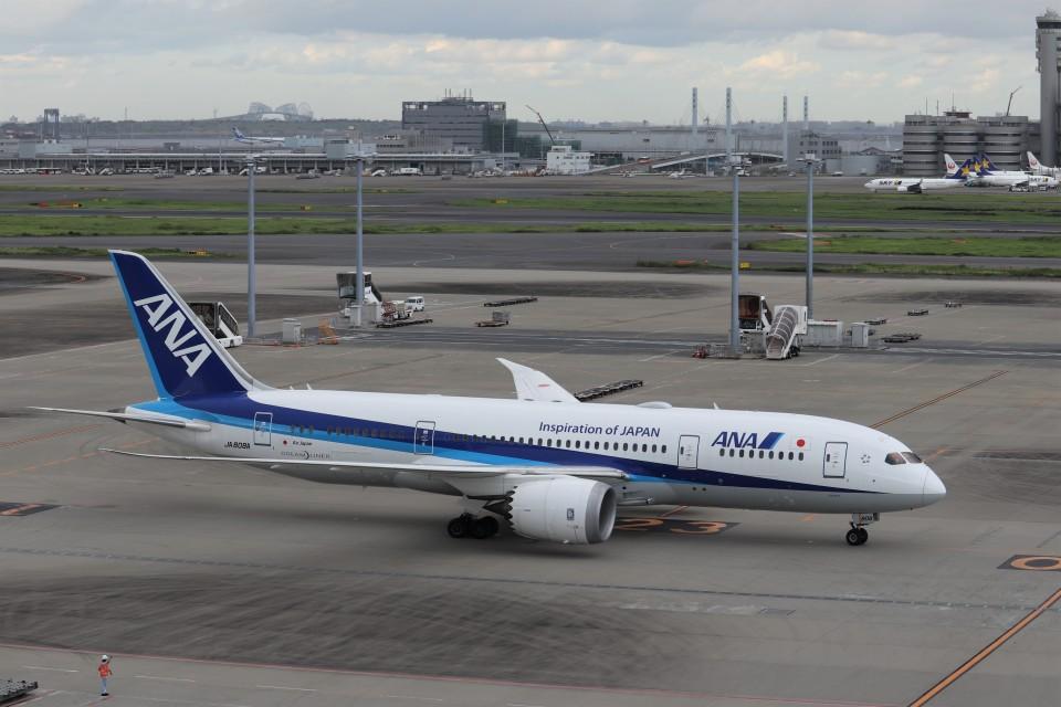 KAZFLYERさんの全日空 Boeing 787-8 Dreamliner (JA808A) 航空フォト