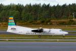 delawakaさんが、ストックホルム・アーランダ空港で撮影したブラーテンズ・リージョナル・エアラインズ 50の航空フォト(写真)