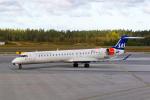 delawakaさんが、ストックホルム・アーランダ空港で撮影したシティジェット CL-600-2D24 Regional Jet CRJ-900LRの航空フォト(写真)