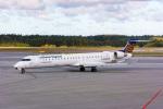 delawakaさんが、ストックホルム・アーランダ空港で撮影したルフトハンザ・シティライン CL-600-2D24 Regional Jet CRJ-900LRの航空フォト(写真)