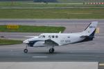 delawakaさんが、ワルシャワ・フレデリック・ショパン空港で撮影した個人所有 C90GTi King Airの航空フォト(飛行機 写真・画像)
