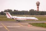 delawakaさんが、ワルシャワ・フレデリック・ショパン空港で撮影したポーランド空軍 C-37B Gulfstream G550 (G-V-SP)の航空フォト(写真)