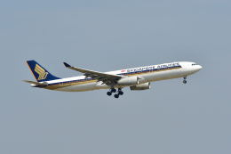 ポン太さんが、スワンナプーム国際空港で撮影したシンガポール航空 A330-343Xの航空フォト(飛行機 写真・画像)