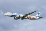 ぱん_くまさんが、成田国際空港で撮影したエル・アル航空 787-9の航空フォト(飛行機 写真・画像)