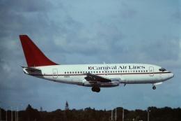 tassさんが、フォートローダーデール・ハリウッド国際空港で撮影したカーニバル・エアラインズ 737-212/Advの航空フォト(飛行機 写真・画像)