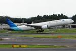 Cozy Gotoさんが、成田国際空港で撮影したガルーダ・インドネシア航空 777-3U3/ERの航空フォト(写真)