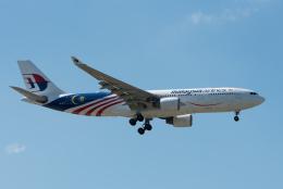 ぎんじろーさんが、台湾桃園国際空港で撮影したマレーシア航空 A330-223の航空フォト(飛行機 写真・画像)