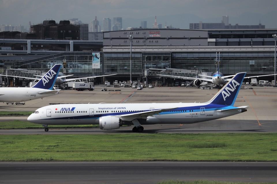 KAZFLYERさんの全日空 Boeing 787-9 (JA896A) 航空フォト