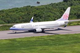 sumihan_2010さんが、石垣空港で撮影したチャイナエアライン 737-8ALの航空フォト(飛行機 写真・画像)