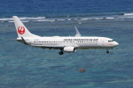 sumihan_2010さんが、新石垣空港で撮影した日本トランスオーシャン航空 737-8Q3の航空フォト(写真)