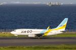 jjieさんが、羽田空港で撮影したAIR DO 737-781の航空フォト(写真)