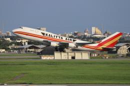 sumihan_2010さんが、嘉手納飛行場で撮影したカリッタ エア 747-4B5(BCF)の航空フォト(飛行機 写真・画像)