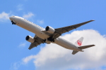 Cherry blossoms さんが、成田国際空港で撮影した日本航空 777-346/ERの航空フォト(写真)