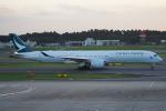 SFJ_capさんが、成田国際空港で撮影したキャセイパシフィック航空 A350-1041の航空フォト(写真)