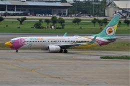 amagoさんが、ドンムアン空港で撮影したノックエア 737-86Jの航空フォト(飛行機 写真・画像)