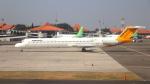 誘喜さんが、スカルノハッタ国際空港で撮影したエアファスト インドネシア MD-83 (DC-9-83)の航空フォト(写真)