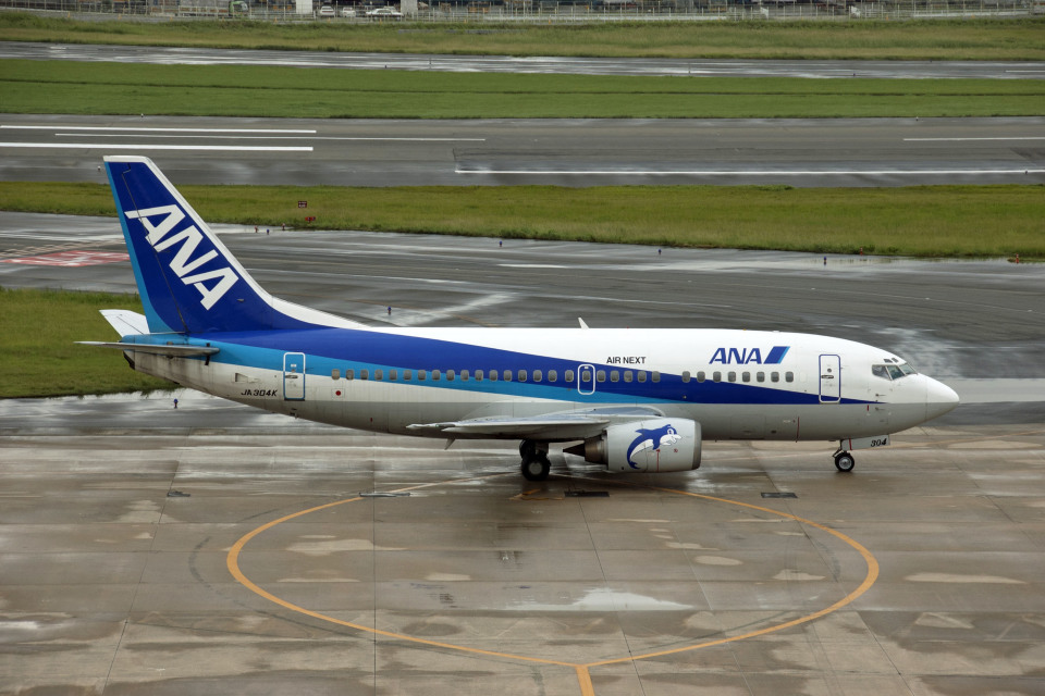 Gambardierさんのエアーネクスト Boeing 737-500 (JA304K) 航空フォト