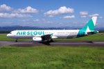 yabyanさんが、静岡空港で撮影したエアソウル A321-231の航空フォト(飛行機 写真・画像)
