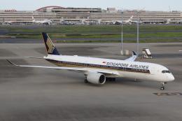 やつはしさんが、羽田空港で撮影したシンガポール航空 A350-941XWBの航空フォト(写真)