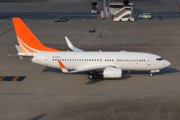 やつはしさんが、羽田空港で撮影したハンワ・ケミカル 737-7HF BBJの航空フォト(写真)