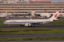 やつはしさんが、羽田空港で撮影した中国国際航空 A330-343Xの航空フォト(写真)