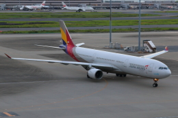 やつはしさんが、羽田空港で撮影したアシアナ航空 A330-323Xの航空フォト(写真)