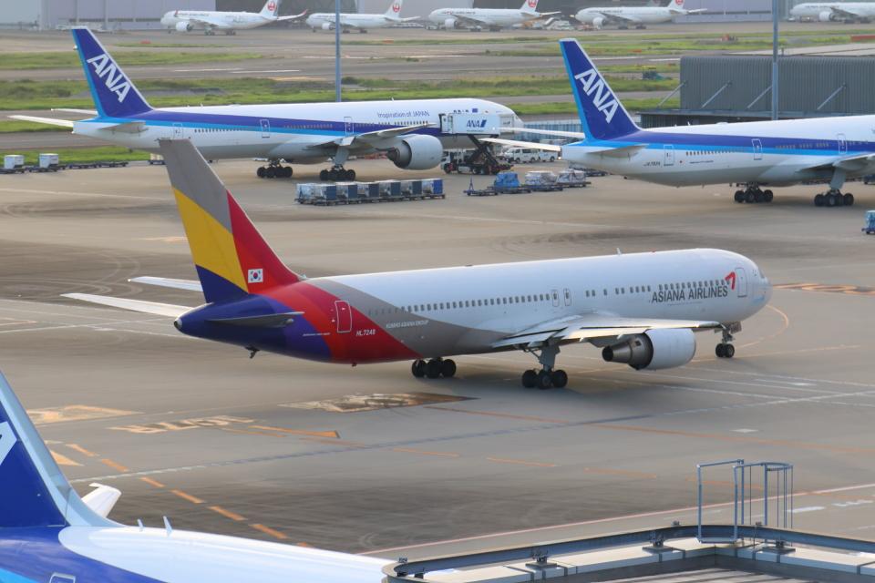 やつはしさんのアシアナ航空 Boeing 767-300 (HL7248) 航空フォト