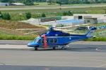 Ryunさんが、松本空港で撮影した長野県警察 AW139の航空フォト(写真)