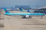 代打の切札さんが、関西国際空港で撮影した大韓航空 777-3B5/ERの航空フォト(写真)