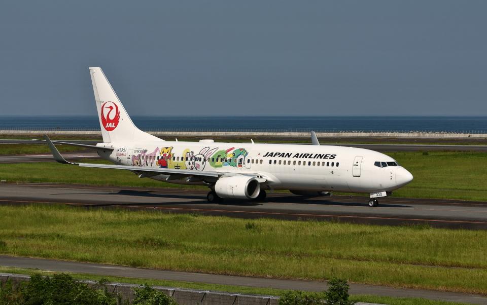 asuto_fさんの日本航空 Boeing 737-800 (JA330J) 航空フォト