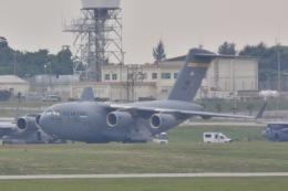 Cherry blossoms さんが、嘉手納飛行場で撮影したアメリカ空軍 C-17A Globemaster IIIの航空フォト(飛行機 写真・画像)