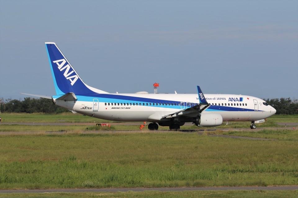 もぐ3さんの全日空 Boeing 737-800 (JA87AN) 航空フォト