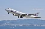 kurubouzuさんが、関西国際空港で撮影したシルクウェイ・ウェスト・エアラインズ 747-4H6F/SCDの航空フォト(飛行機 写真・画像)