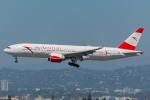 Tomo-Papaさんが、ロサンゼルス国際空港で撮影したオーストリア航空 777-2B8/ERの航空フォト(写真)
