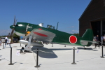 徳兵衛さんが、鶉野飛行場跡で撮影した日本海軍 Kawanishiの航空フォト(写真)
