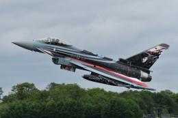 nobu2000さんが、フェアフォード空軍基地で撮影したドイツ空軍 EF-2000 Typhoonの航空フォト(飛行機 写真・画像)