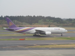 鷹71さんが、成田国際空港で撮影したタイ国際航空 777-2D7の航空フォト(写真)